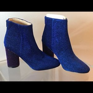 Glitter Ankle Boots!